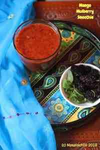 Mango Mulberry Smoothie