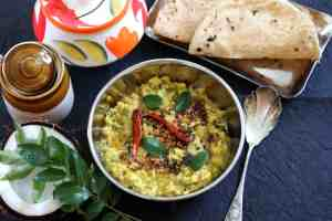 Avarakkai Kootu or South Indian Broad Beans Vegan Curry