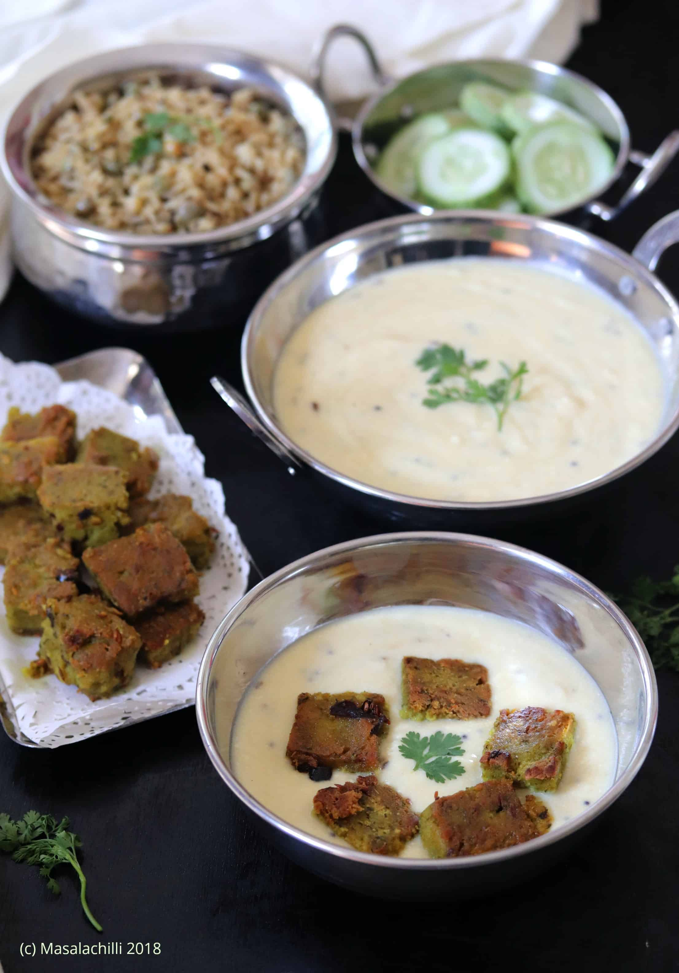 Indrahar ki Kadhi – A Gluten Free Main Course Recipe from Madhya Pradesh