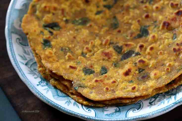 Step by Step Pics of how to make Missi Roti at home