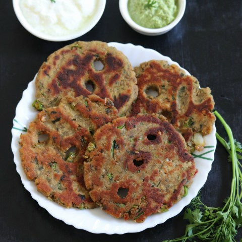 Rajgira Thalipeeth Recipe