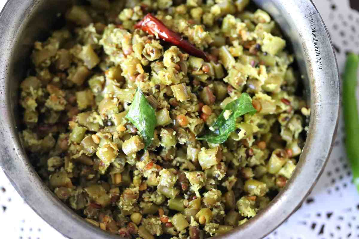 Thoran Recipe for Vishu Sadya