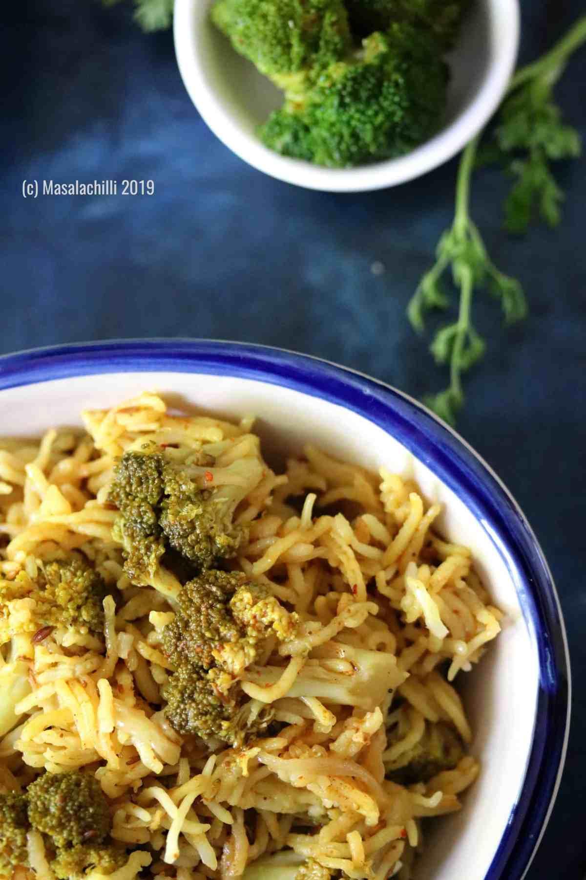 Gluten Free Vegan Broccoli Rice