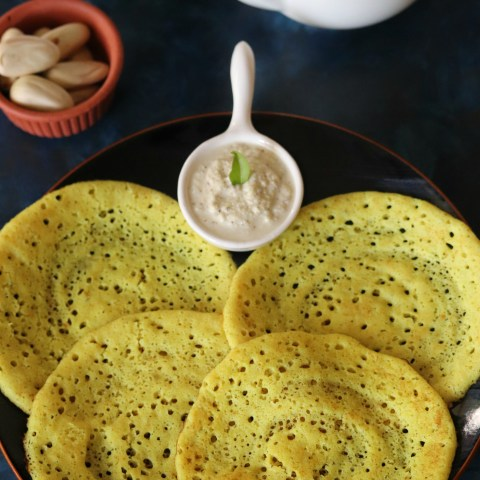 Surnoli or Sponge Dosa from Saraswat Cuisine