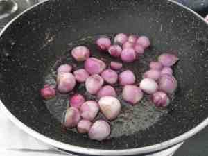 Saute the onions