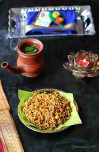 Kovil Puliyodharai / Temple Style Tamarind Rice