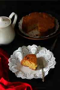 Eggless Coconut Cake (Whole Wheat and Butter Free)