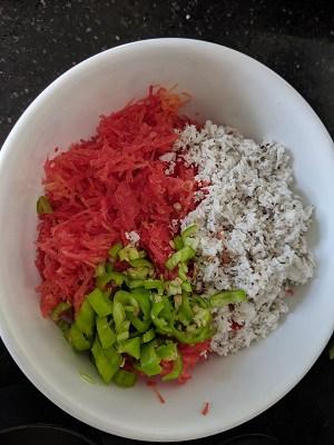 Carrot Raita Ingredients