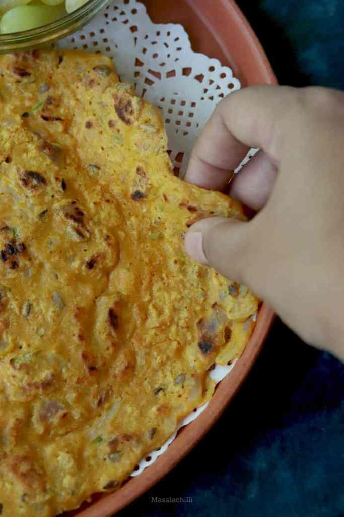 Oats Chilla Recipe with besan