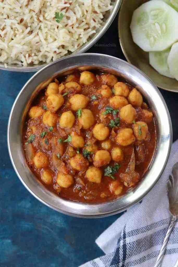 Chana Masala Recipe - Indian Chickpea Curry