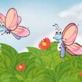 kelebek ile uçurtma masalı