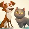 Kedi Köpek Kavgası