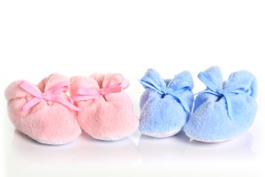 bigstock-Pink-and-blue-baby-booties--15285056