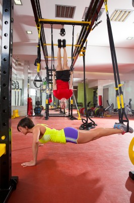 bigstock-Crossfit-fitness-TRX-training--45824179