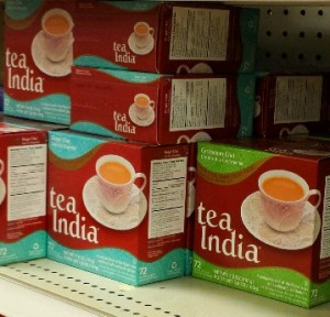 South Asian; tea