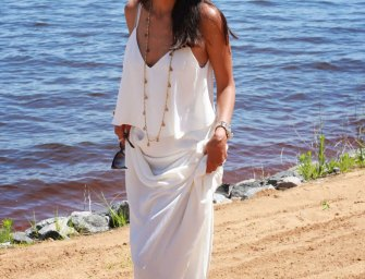 Summer Style Tips: The White Maxi Dress