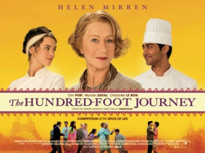 poster for 100 foot journey