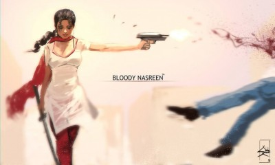 cartoon bloody nasreen
