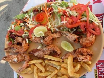Ashwem Beach 3 Prawn Lunch
