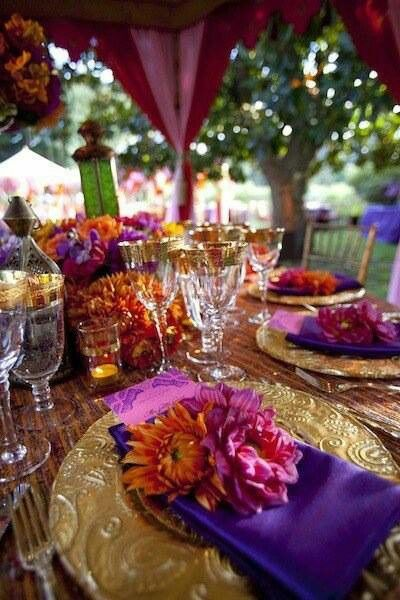 Event Tablescape Ideas from DeMarse Meetings