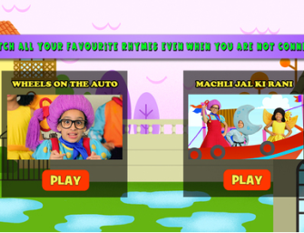 New App: Teaching Hindi through Nursery Rhymes