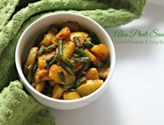 One Dish Three Ways: Aloo Phali Saabzi