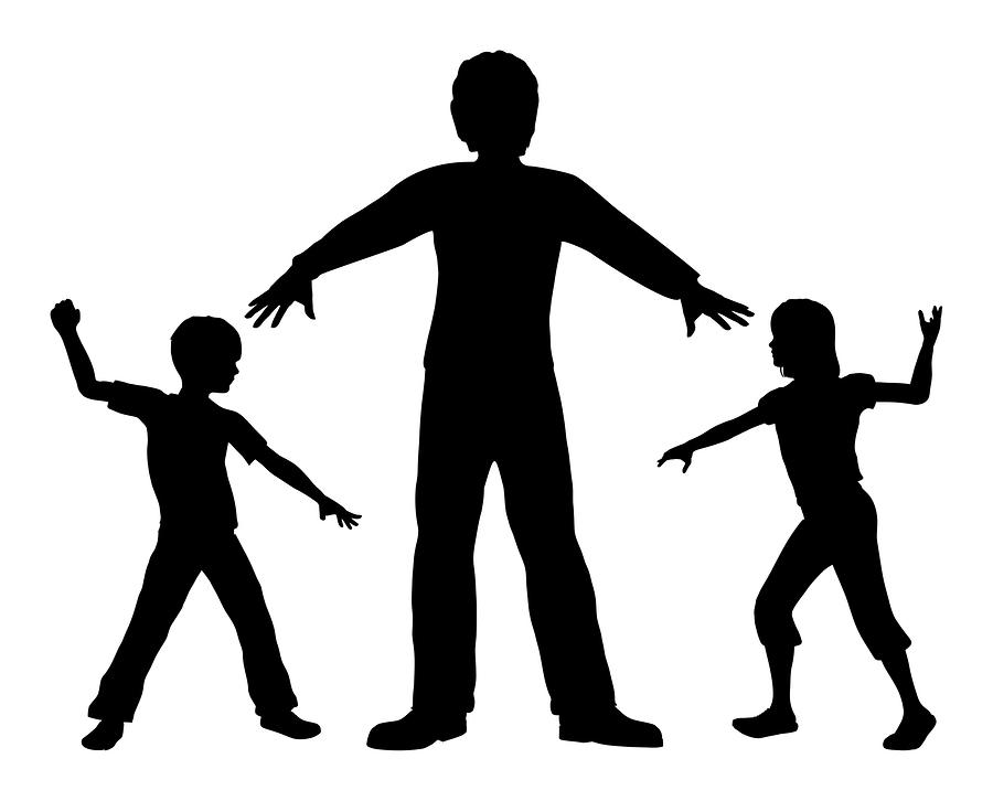 Quarreling Children