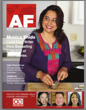 Monica Bhide Award winning author