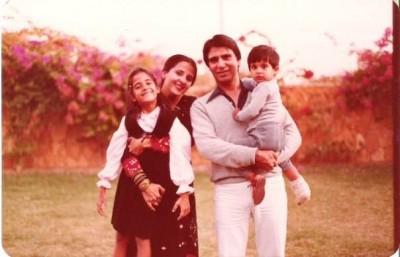Ali Kazmi's parents