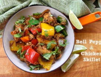 Recipe: Bell Pepper and Chicken Skillet