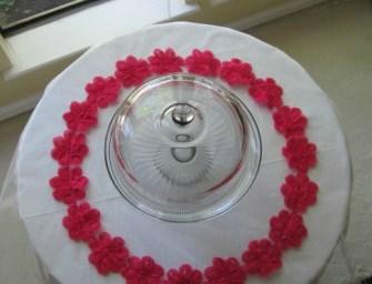 DIY: Wedding Cake Mat