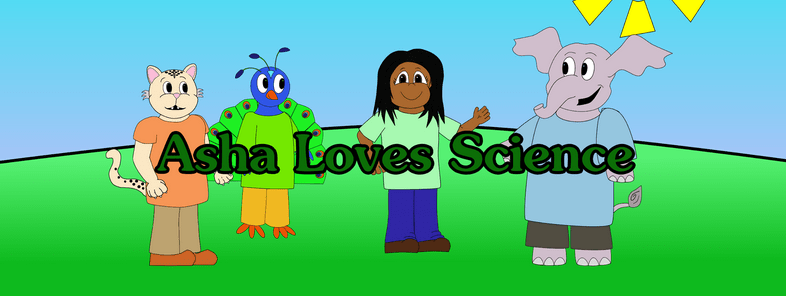 Asha Loves science