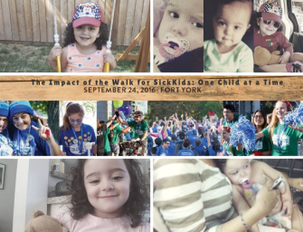 The Impact of the Walk for SickKids: One Walk, Many Lives