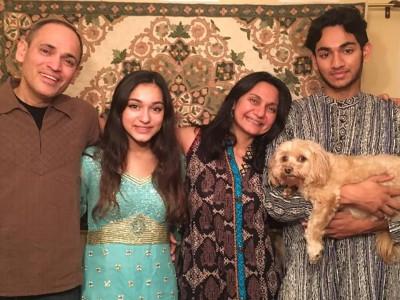 Sonali Dev's Family