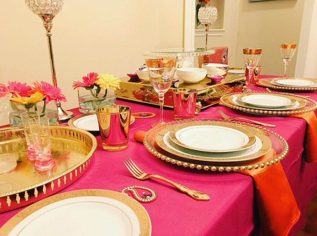 Diwali table