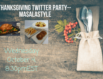 Thanksgiving Twitter Party with Masalamommas and Canadian Turkey