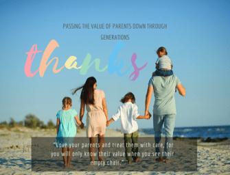 Raising Children with Values About Parents