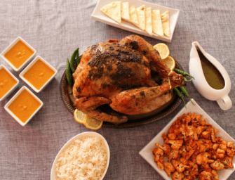 South Asian Inspired Turkey Dinner for the Holiday Season