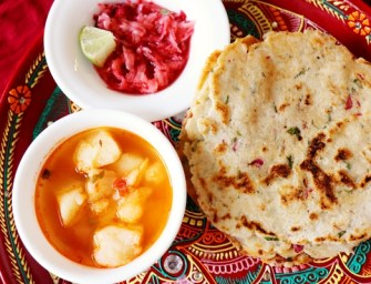 An Easy and Healthy Thali