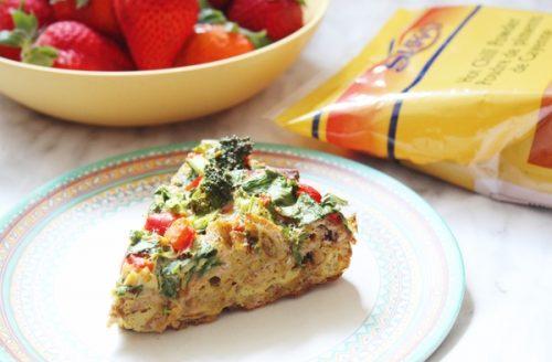 suhoor baked omelette
