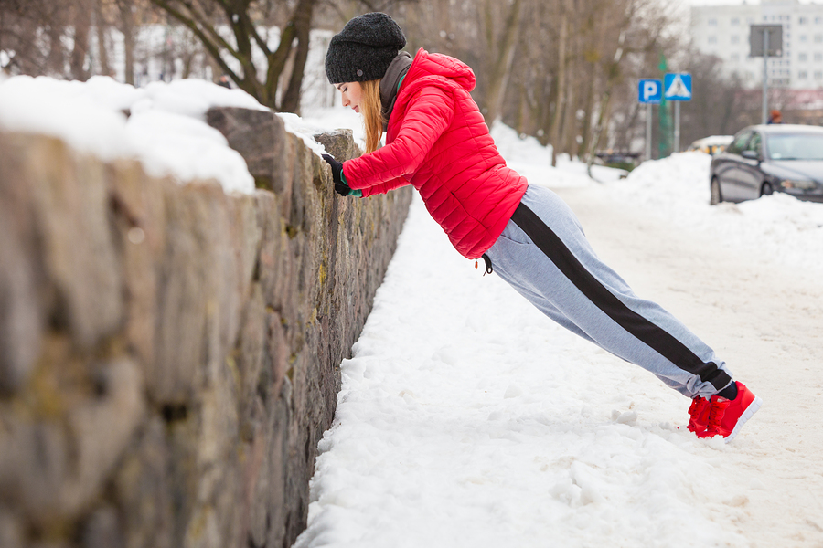 Outdoor Sport Exercising, Sporty Outfit Ideas. Woman Wearing War