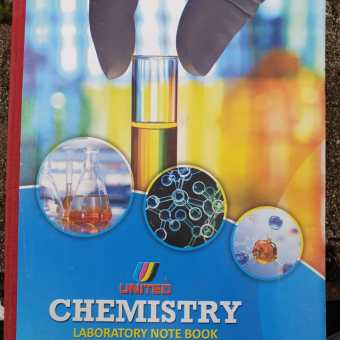 Chemistry Note Book C (12 Pcs) See other price are in Description
