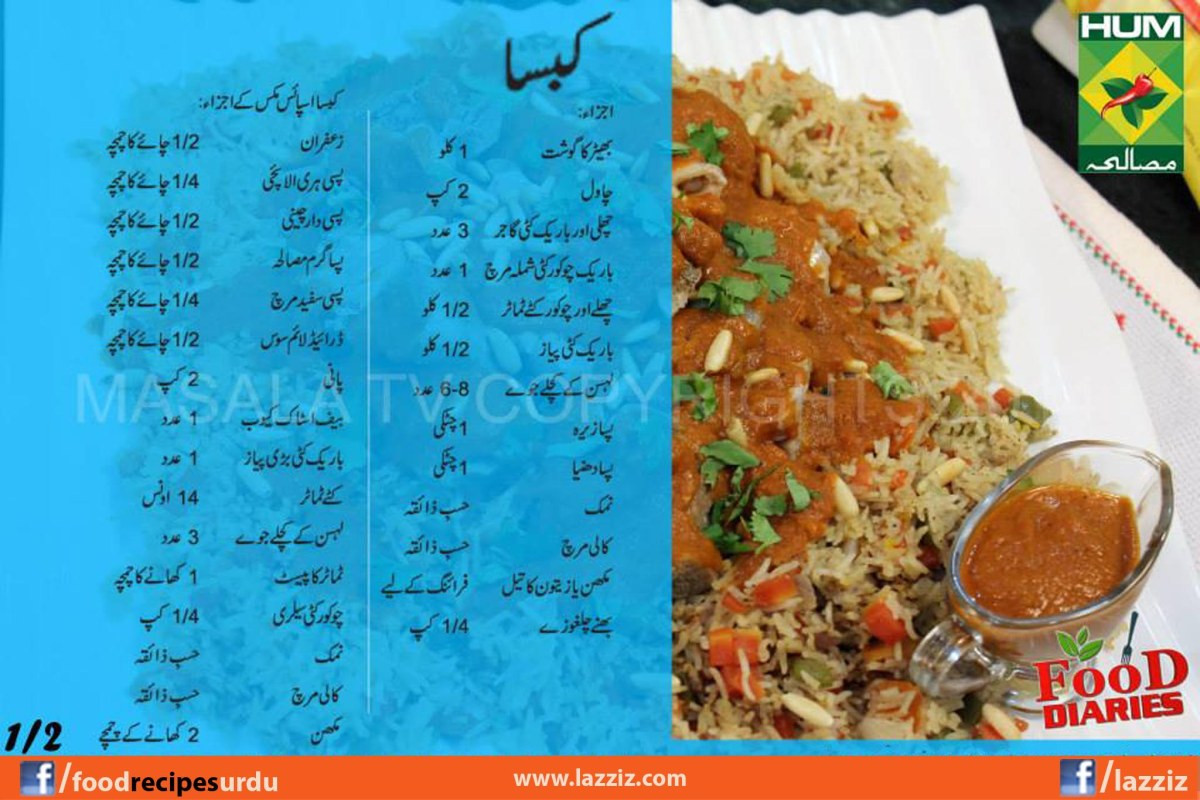 recipes in urdu english masala tv tarka show food