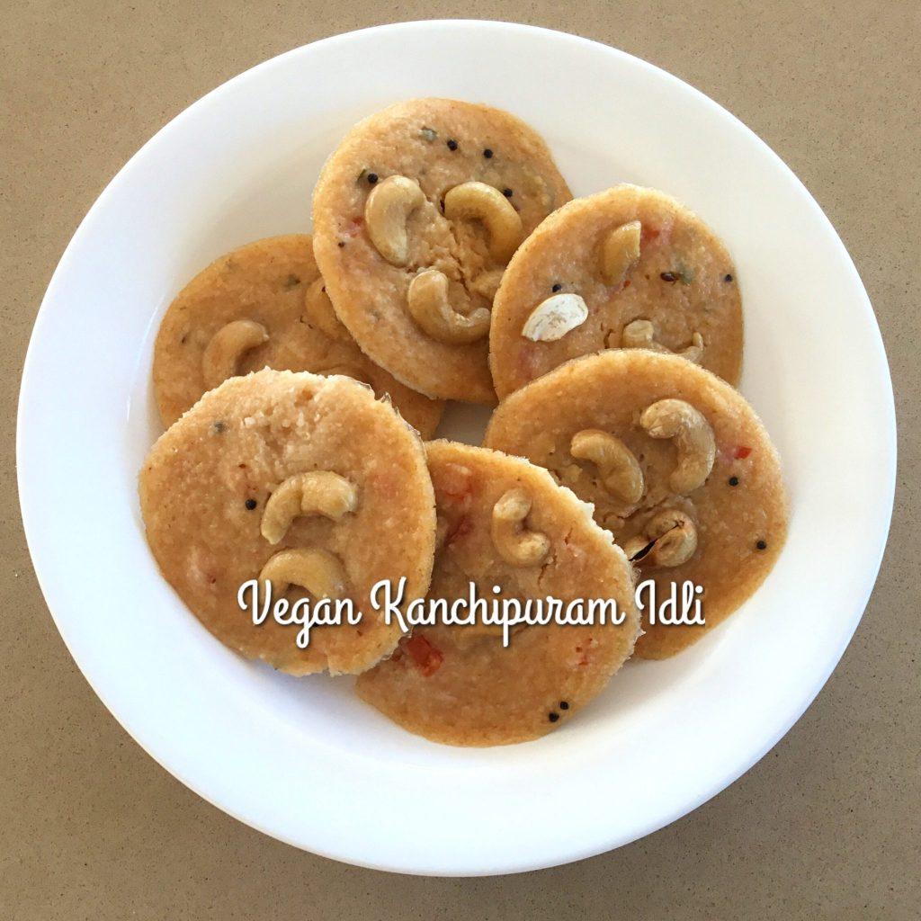 Vegan Quinoa Kanchipuram Idli