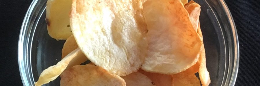 Airfryer potato chip recipe