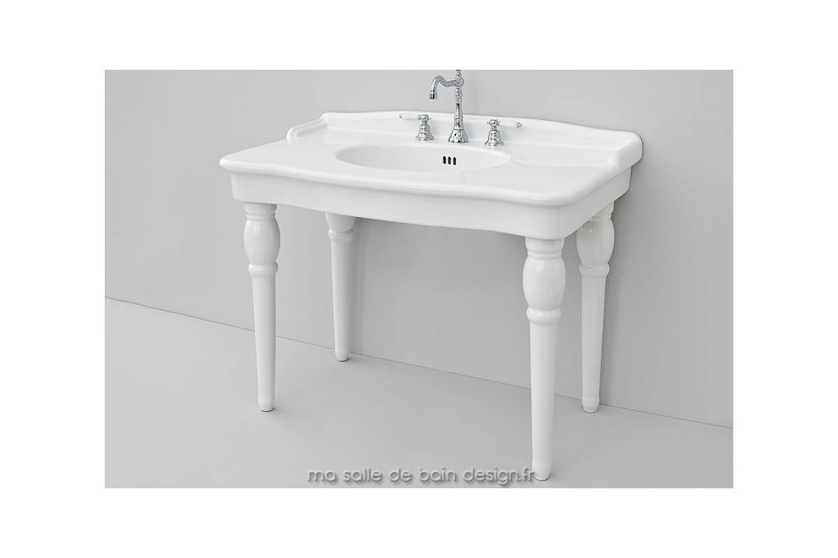 Vasque A Poser Blanche