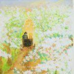 赤毛のアン Anne of Green Gables イラスト「喜びの白い路」