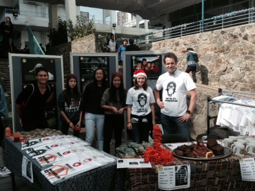 sland School Teachers Ross, Sarah and student supporters do a great job promoting Masarang projects and selling their self-designed merchandise to help support Masarang projects