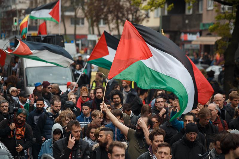 مَسيرة فلسطينيّة أمميّة ضد الإستعمار الصهيوني ونهج أوسلو التصفويّ