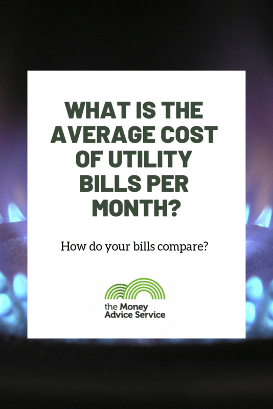 What is the average cost of utility bills per month